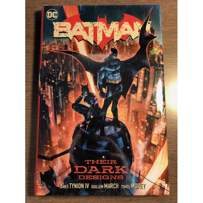 BATMAN: THEIR DARK DESIGNS HC - DC COMICS (2020)