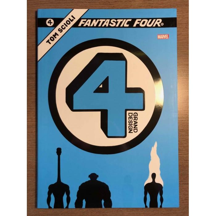 FANTASTIC FOUR: GRAND DESIGN - TOM SCIOLI - PANINI COMICS (2020)