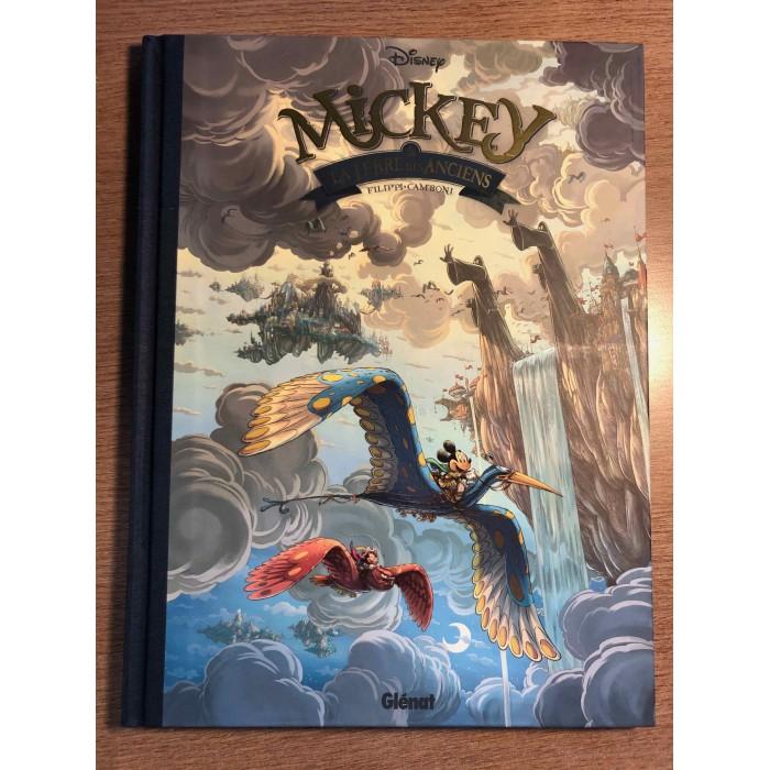 MICKEY ET LA TERRE DES ANCIENS - DISNEY - GLÉNAT (2020)