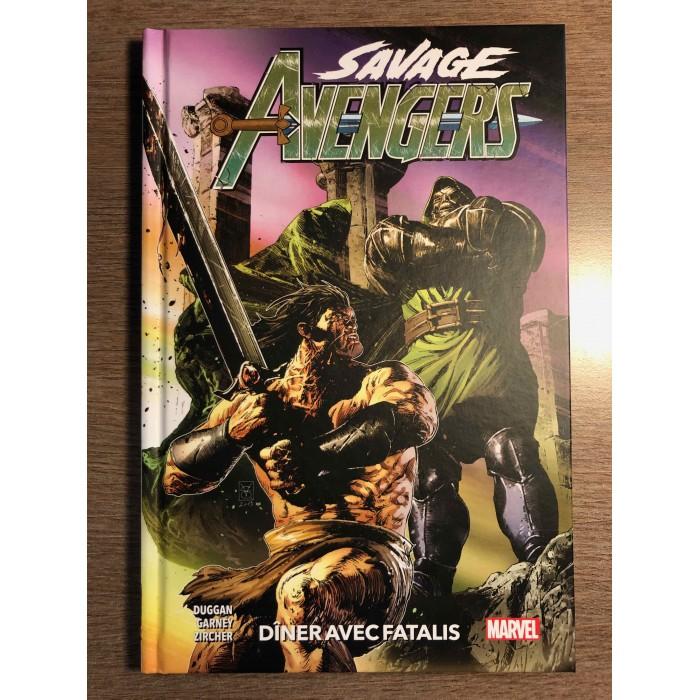 SAVAGE AVENGERS T02 - DÎNER AVEC FATALIS - PANINI COMICS (2020)