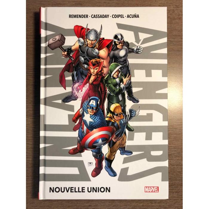UNCANNY AVENGERS T01 - NOUVELLE UNION - PANINI COMICS (2020)
