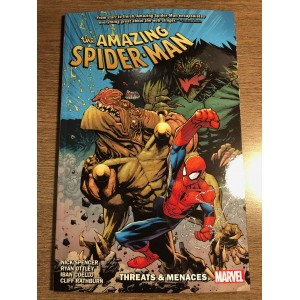AMAZING SPIDER-MAN BY NICK SPENCER TP VOL. 08 - THREATS & MENACES - MARVEL (2020)