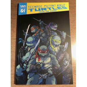 TMNT REBORN TP VOL. 01 - FROM THE ASHES - IDW (2020)