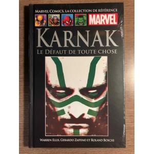 COLLECTION DE RÉFÉRENCE MARVEL TOME 116 - KARNAK: LE DÉFAUT DE TOUTE CHOSE - HACHETTE (2020)
