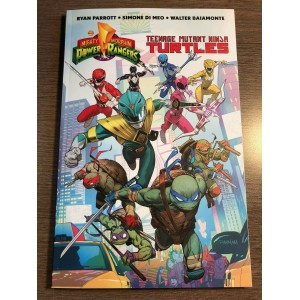POWER RANGERS TEENAGE MUTANT NINJA TURTLES TP - BOOM! IDW (2020)