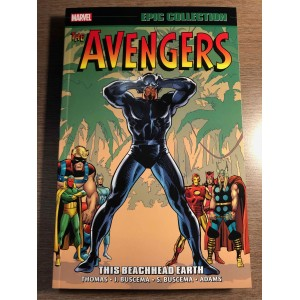 AVENGERS EPIC COLLECTION TP VOL. 05 - THIS BEACHHEAD EARTH - MARVEL (2020)