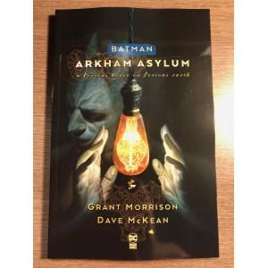 BATMAN ARKHAM ASYLUM TP NEW EDITION - MORRISON / MCKEAN - DC COMICS (2020)