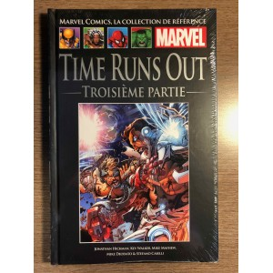 COLLECTION DE RÉFÉRENCE MARVEL TOME 110 - TIMES RUNS OUT 3e PARTIE - HACHETTE (2020)