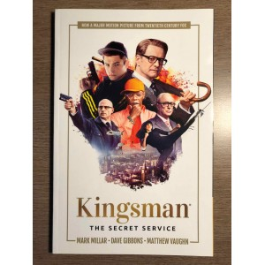 KINGSMAN: THE SECRET SERVICE TP - MOVIE COVER - MARK MILLAR - IMAGE COMICS (2018)