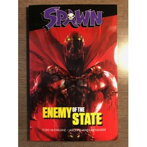 SPAWN: ENEMY OF THE STATE TP - MCFARLANE - IMAGE COMICS (2019)