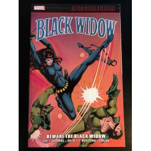 BLACK WIDOW EPIC COLLECTION TP VOL. 1 - BEWARE THE BLACK WIDOW - MARVEL (2019)