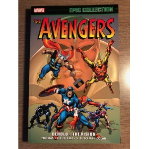 AVENGERS EPIC COLLECTION TP VOL. 04 - BEHOLD... THE VISION - MARVEL (2016)