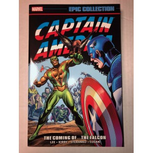 CAPTAIN AMERICA EPIC COLLECTION TP VOL. 02 - THE COMING OF THE FALCON - MARVEL (2016)