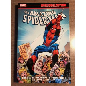 AMAZING SPIDER-MAN EPIC COLLECTION TP VOL. 05 - THE SECRET OF THE PETRIFIED TABLET - MARVEL (2019)