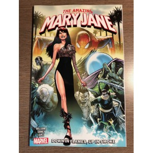 AMAZING MARY JANE VOL. 1 TP - DOWN IN FLAMES, UP IN SMOKE - MARVEL (2020)
