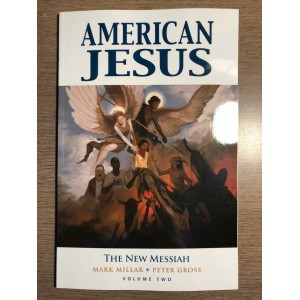 AMERICAN JESUS TP VOL. 2: THE NEW MESSIAH - MARK MILLAR - IMAGE COMICS (2020)