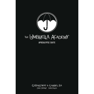 UMBRELLA ACADEMY LIBRARY EDITION HC VOL. 1 - APOCALYPSE SUITE - DARK HORSE (2019)