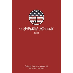 UMBRELLA ACADEMY LIBRARY EDITION HC VOL. 2 - DALLAS- DARK HORSE (2019)