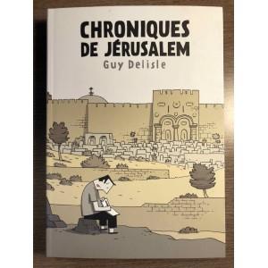 CHRONIQUES DE JÉRUSALEM - GUY DELISLE - SHAMPOOING/DELCOURT (2011)