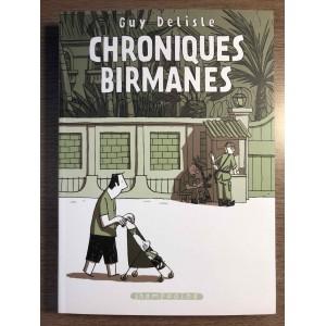 CHRONIQUES BIRMANES - GUY DELISLE - SHAMPOOING/DELCOURT (2007)